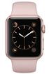 Apple WATCH SERIE 1 38MM CADRAN ALUMINIUM COULEUR OR-ROSE BRACELET SPORT ROSE photo 2