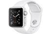 Apple watch WATCH SERIE 2 38MM ALUMINIUM COULEUR ARGENT BRACELET SPORT BLANC Apple