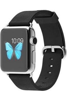Apple watch WATCH 38MM CADRAN ACIER BRACELET CLASSIQUE NOIR Apple