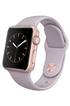Apple watch WATCH 38MM CADRAN ALUMINIUM COULEUR OR-ROSE BRACELET SPORT LAVANDE Apple