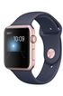Apple watch WATCH SERIE 1 42MM CADRAN ALUMINIUM COULEUR OR ROSE BRACELET SPORT BLEU Apple