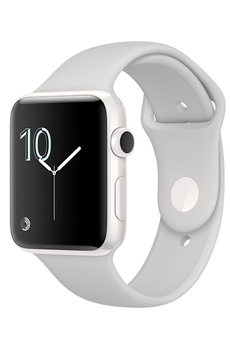 Apple watch WATCH EDITION SERIE 2 42MM CERAMIQUE BRACELET SPORT BLANC Apple