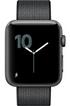 Apple watch WATCH SERIE 2 42MM ALUMINIUM COULEUR GRIS SIDERAL BRACELET NYLON NOIR Apple