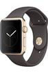 Apple watch WATCH SERIE 2 42MM ALUMINIUM COULEUR OR BRACELET SPORT CACAO Apple