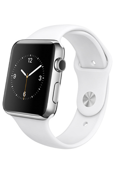 Apple watch WATCH 42MM ACIER BRACELET SPORT BLANC Apple