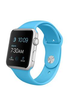 Apple watch WATCH 42MM CADRAN ALUMINIUM BRACELET SPORT BLEU Apple