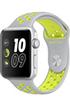 Apple watch WATCH NIKE+ 42MM ALUMINIUM COULEUR ARGENT BRACELET SPORT NIKE ARGENT/VOLT Apple