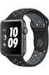 Apple watch WATCH NIKE+ 42MM ALUMINIUM COULEUR GRIS SIDERAL BRACELET SPORT NIKE NOIR/GRIS FROID Apple