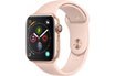 Apple Watch Série 4 GPS + Cellular 44mm Boîtier en aluminium or avec Bracelet Sport rose des sables photo 1