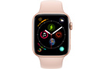 Apple Watch Série 4 GPS + Cellular 44mm Boîtier en aluminium or avec Bracelet Sport rose des sables photo 2