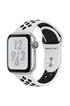 Apple Watch Série 4 Nike+ GPS + Cellular 40mm Boîtier en aluminium argent avec Bracelet Sport Nike Platine pur/Noir photo 1