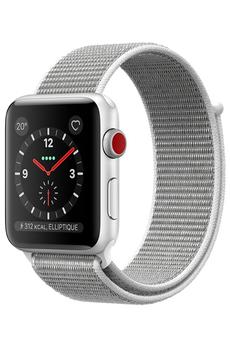 Watch Series 3 GPS et Cellular 42mm - Boîtier en aluminium argent avec Brac