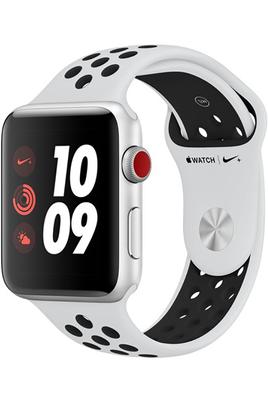 Watch Series 3 Nike+ GPS et Cellular 42mm - Boîtier en aluminium Argent ave