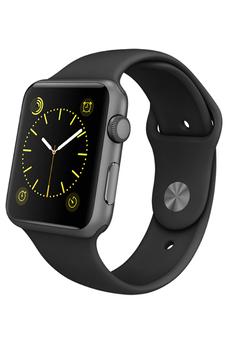Apple watch WATCH SPORT 42MM GRIS SIDERAL ALUMINIUM BRACELET SPORT NOIR Apple