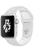 Apple watch WATCH NIKE+ 38MM ALUMINIUM ARGENT BRACELET SPORT NIKE PLATINE/BLANC Apple