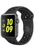 Apple watch WATCH NIKE+ 42MM ALUMINIUM GRIS SIDERAL BRACELET SPORT NIKE NOIR/GRIS Apple