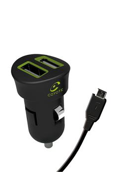 Accessoires assistant d'aide à la conduite CAC MINI DOUBLE USB Coyote