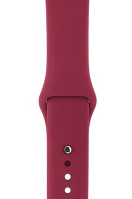 Bracelet 42mm En Fluoroélastomère Avec fermoir à clou en acier inoxydable Taille de 140 à 210 mm