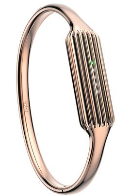Accessoires Montres / Bracelets connectés BRACELET EN ACIER INOXYDABLE COULEUR OR ROSE TAILLE L POUR FITBIT FLEX 2 Fitbit
