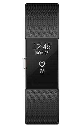 Bracelets connectés CHARGE 2 NOIR ARGENT LARGE Fitbit