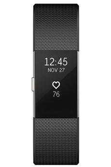 Bracelets connectés CHARGE 2 NOIR ARGENT SMALL Fitbit
