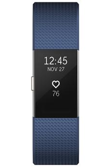 Bracelets connectés CHARGE 2 BLEU ARGENT LARGE Fitbit