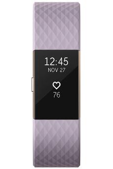 Bracelets connectés CHARGE 2 OR ROSE LAVANDE Fitbit