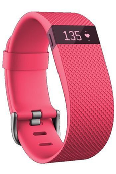 Bracelets connectés CHARGE HR ROSE LARGE Fitbit