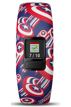 Bracelets connectés Garmin VIVOFIT JR.2 CAPTAIN AMERICA