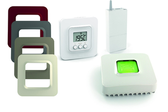 Thermostat connecté PACK TYBOX 5100 BLANC Delta Dore