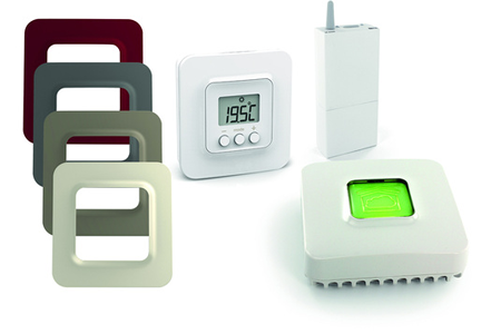 thermostat connect delta dore pack tybox 5100 blanc darty. Black Bedroom Furniture Sets. Home Design Ideas