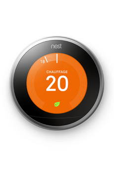 Thermostat connecté Nest LEARNING THERMOSTAT 3E GENERATION