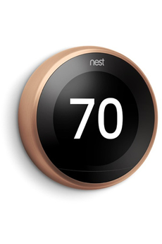 Thermostat connecté Nest Thermostat connecté Learning Cuivre T3031EX