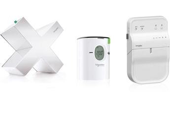 Thermostat connecté PACK WISER CHAUFFAGE A BOUCLE D'EAU OPTIMUM EER10901 Schneider