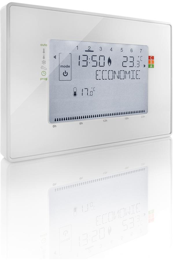 thermostat connect somfy thermostat prog radio 4241207 darty. Black Bedroom Furniture Sets. Home Design Ideas
