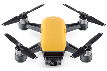 Drone SPARK COMBO FLY MORE JAUNE Dji