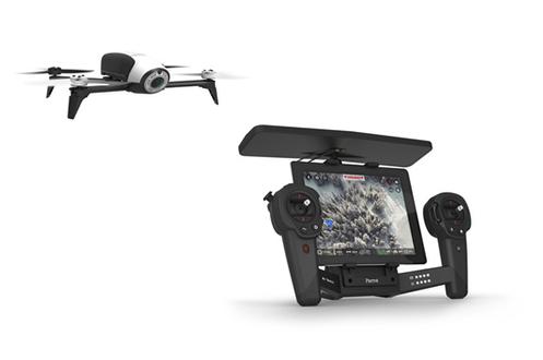 Découvrez Bebop 2 + Skycontroller en cliquant ici Parrot Bebop 2 est un drone volant, ultra compact, léger, robuste et sûr, pilotable via smartphone ou tablette en intérieur comme en extérieur. Appréciez ses figures acrobatiques, sa rapidité, sa stabilité