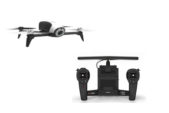 Drone BEBOP 2 BLANC + SKYCONTROLLER Parrot