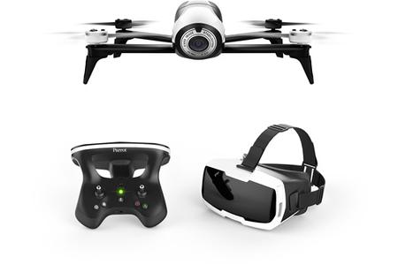 drone parrot bebop 2 pack fpv white darty. Black Bedroom Furniture Sets. Home Design Ideas