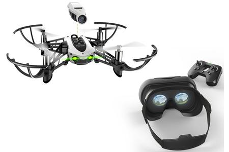 Promotion avis drone parrot cargo, avis parrot - drone quadricoptère bebop 2 - rouge/noir