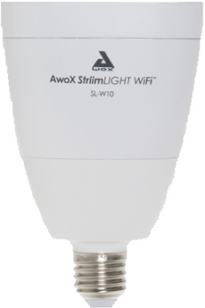 Ampoules connectées STRIIM LIGHT WIFI SL-W10 Awox