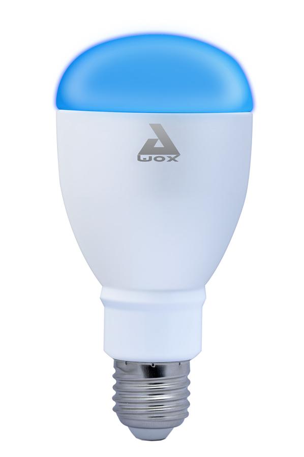 ampoules connect es awox smart light color sml c9 smlc9 4030770 darty