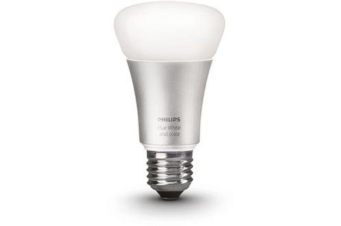 ampoules connect es philips ampoule hue e27 color v2 ampoule hue seule v2 4175700 darty. Black Bedroom Furniture Sets. Home Design Ideas