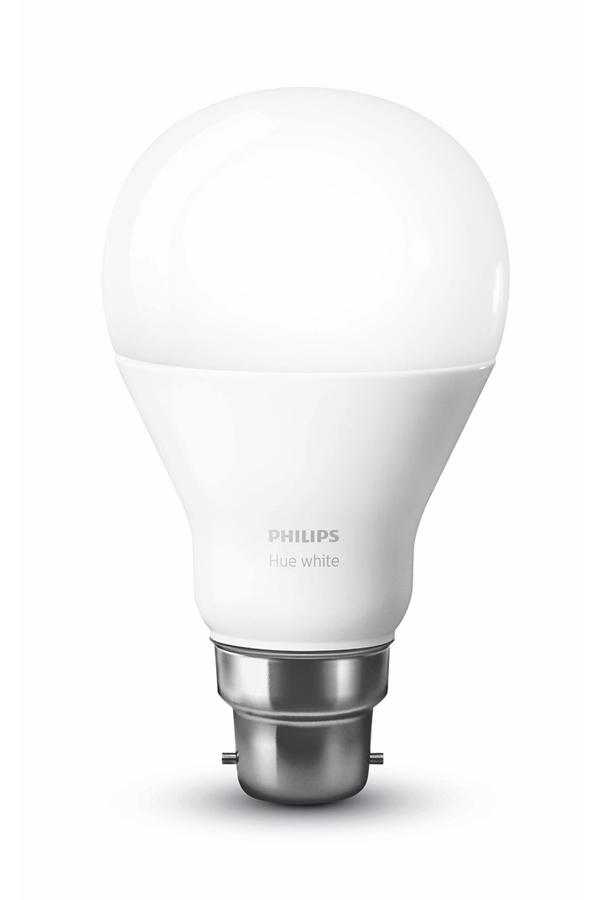 Ampoules connect es philips ampoule hue b22 white - Ampoule connectee philips ...