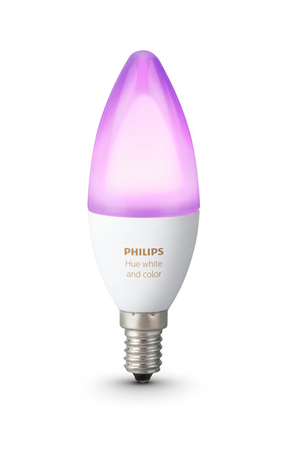 ampoules connect es philips hue e14 colors darty. Black Bedroom Furniture Sets. Home Design Ideas