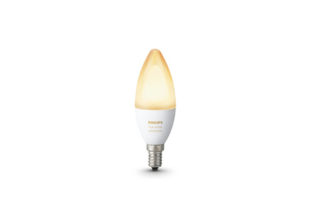 ampoules connect es philips hue white ambiance e14 x2 darty. Black Bedroom Furniture Sets. Home Design Ideas