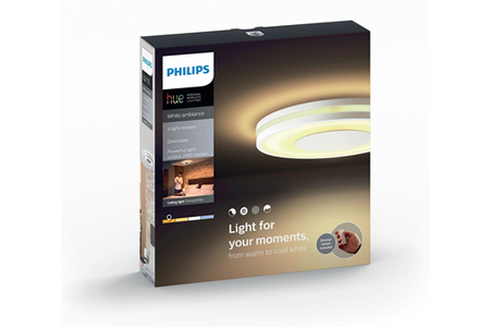 PHILIPS HUE PLAFONNIER BEING BLANC
