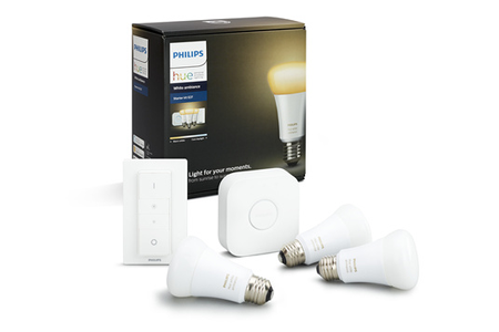 PHILIPS HUE WHITE AMBIANCE E27 KIT DE DEMARRAGE