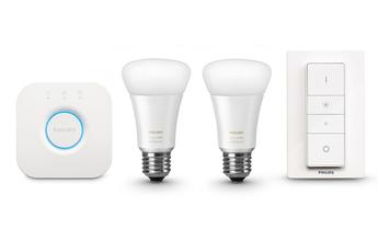 Ampoules connectées KIT HUE WHITE AMBIAN Philips