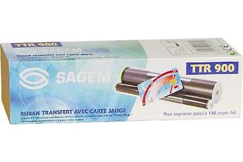 Cartouche et ruban pour fax TTR 900 Sagemcom